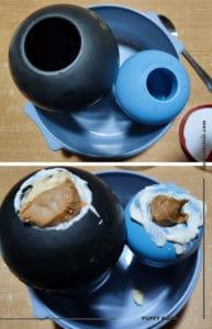 Stuffed KONG for dog